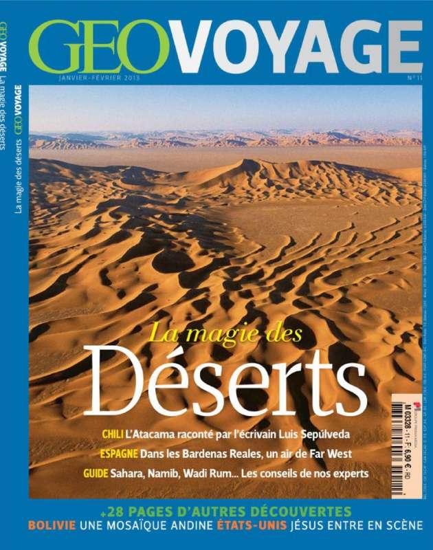 Géo Voyage N°11 Janvier Février 2013