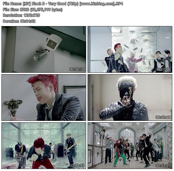 (MV) Block B - Very Good (HD 1080p Youtube)