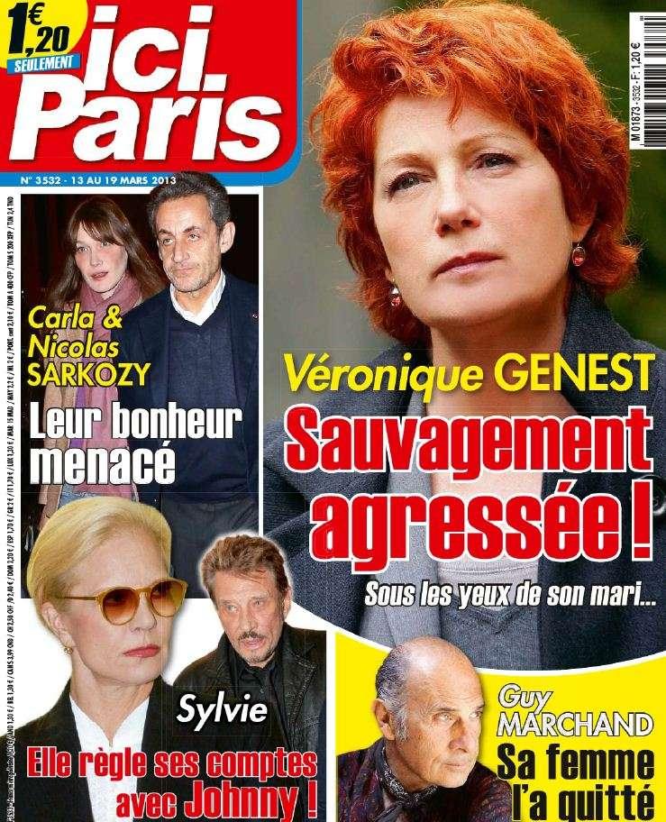 Ici Paris N°3532 du 13 au 19 Mars 2013