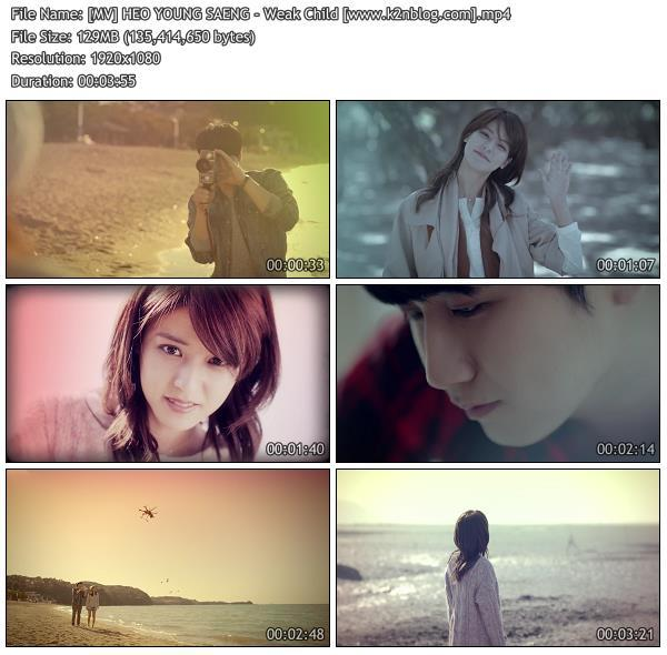 (MV) HEO YOUNG SAENG - Weak Child (HD 1080p Youtube)