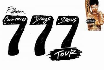 Rihanna 777 Tour SomDireto